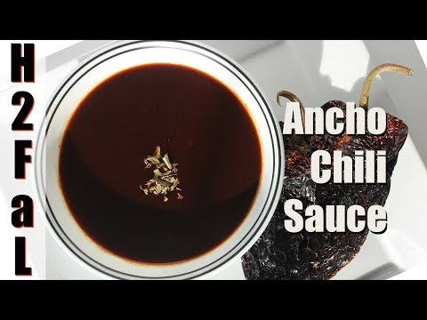 Tex-Mex Cuisine | HOW TO MAKE ANCHO CHILI SAUCE | How To Feed a Loon