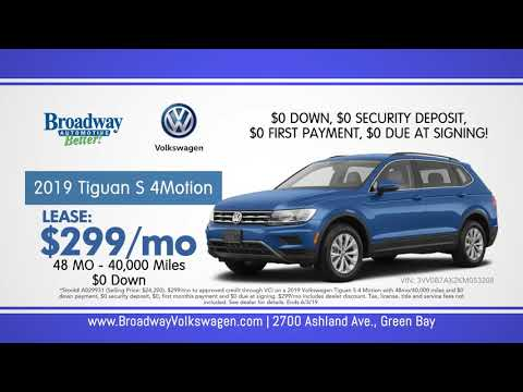 Broadway Volkswagen Sign then Drive Sales Event; Green Bay, WI