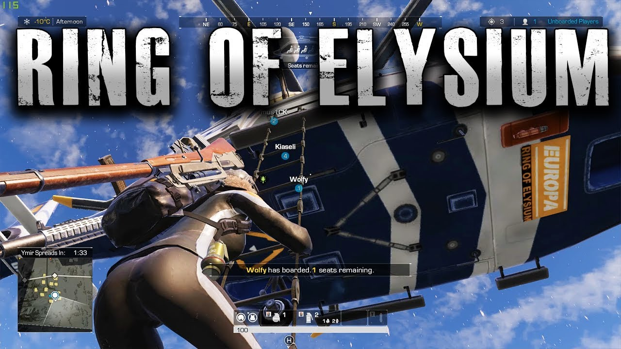 Ski Lift Kills Whole Team - Ring of Elysium