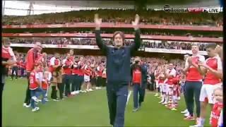 Tomáš Rosický [Arsenal vs Aston Villa 15/05/2016]