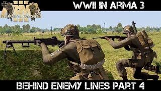 ArmA 3 WWII - Behind Enemy Lines part 4 - Liru as Zeus