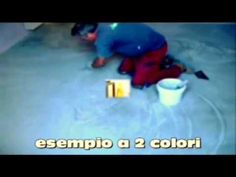 Pavimenti in resina spatolato nuvolato alla veneziana per scale e pareti youtube - Resina per scale ...
