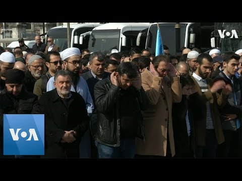 Turks Hold Symbolic Funeral for New Zealand Mosque Victims