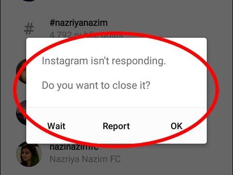 Fix Instagram isn't