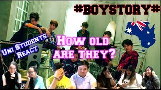 Video #BOYSTORY#《HOW OLD R U》- Aussie Uni students reaction download MP3, 3GP, MP4, WEBM, AVI, FLV Juli 2018