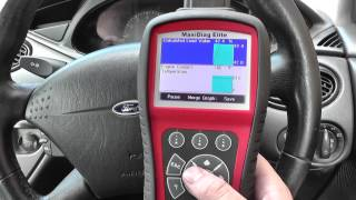Ford Live Data Graphing With Autel MD802