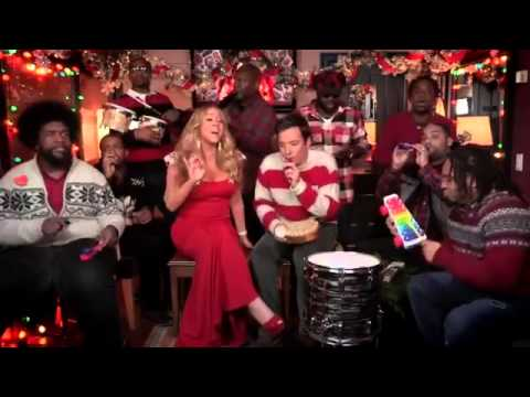 "Jimmy Fallon, Mariah Carey & The Roots: ""All I Want For Christmas Is You"