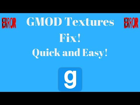 GMOD Textures Fix Errors Download 2016 - CSS Textures and Maps