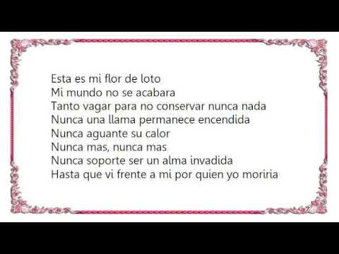 Héroes del Silencio - Flor de Loto Lyrics
