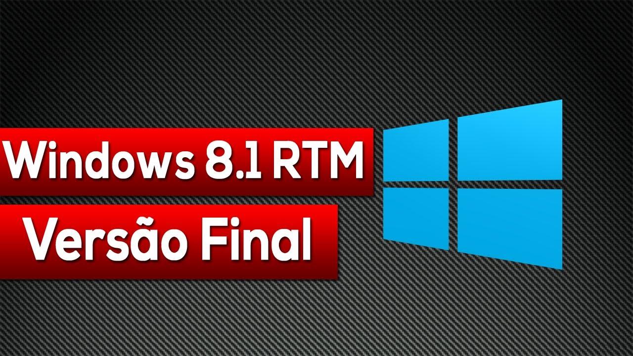 Windows 8 1 Rtm Vers U00e3o Final  Review Completo