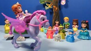 Disney SOFIA the First Royal Prep Academy Dolls Figure Collection Set Princess Maya Jun Clio