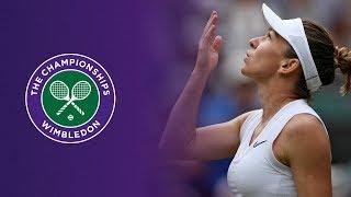 Wimbledon : Halep dans le dernier carré après sa victoire contre Zhang