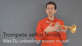 Trompete lernen für Anfänger - Was du unbedingt wissen musst!