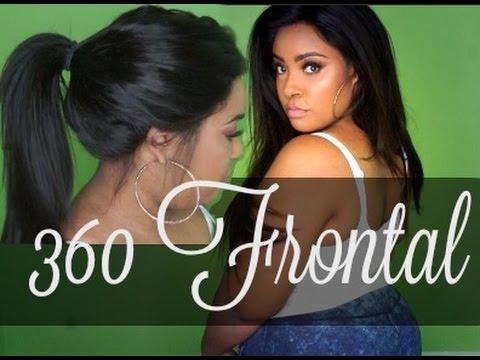 My 1st 360 Frontal + Mayvenn!!! - YouTube 27bd1f647