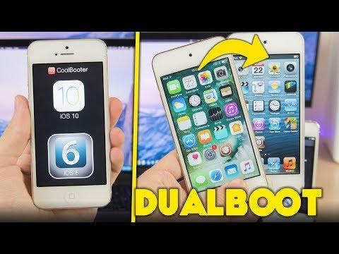 DUALBOOT iOS 6, 7, 9 & 10 su iPhone, iPad e iPod touch!
