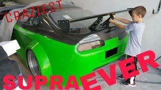 The craziest SUPRA ever ...  fastest twin turbo street car