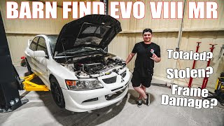 Restoring a Barn Find Evo VIII Pt. 1 - HOW BAD IS IT?