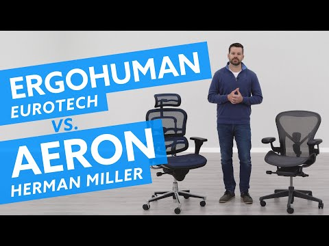 Eurotech Ergohuman Vs Herman Miller Aeron: Which Is Best For You?