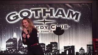 Tess Tregellas at Gotham Comedy Club