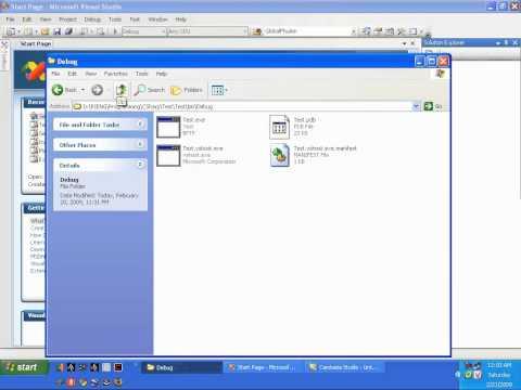 Đóng Gói Phần Mềm  C# Bằng Visual Studio 2008