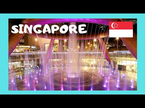 SINGAPORE, World's BIGGEST FOUNTAIN at SUNTEC CITY Shopping Mall