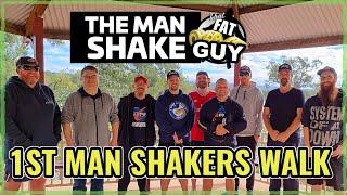 1st Man Shakers Community Walk - My Weight Loss Journey