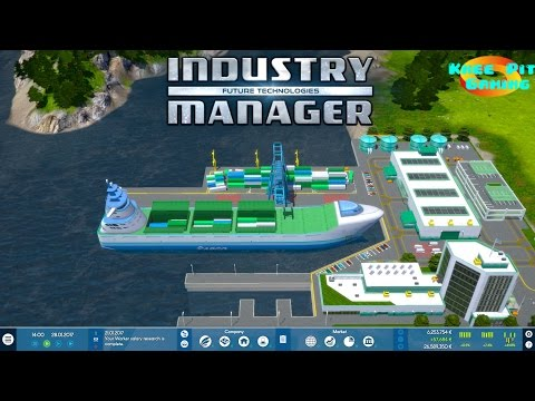 Industry Manager: Future Technologies - Let's Play Episode 8 - Li Ion Batteries & Integrated Circuit