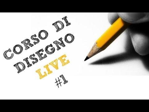 Corso Di Disegno Arte Per Te.Corso Di Disegno Live 1 Arte Per Te Youtube