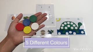 Montessori Colour Counter Set 1