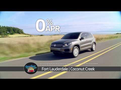 Gunther Volkswagen Fort Lauderdale Model Year End Sales Event - 2015 Tiguan Special Offer