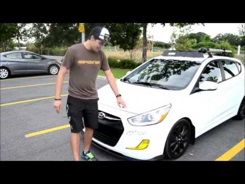 Mindy The Stormtrooper Modified 2016 Hyundai Accent GLS Hatch Ride Along