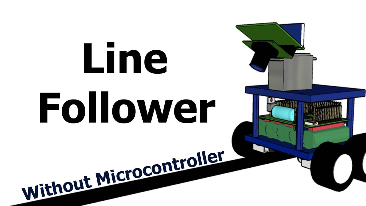 Line Follower Robot Without Microcontroller Arduino Youtube Following