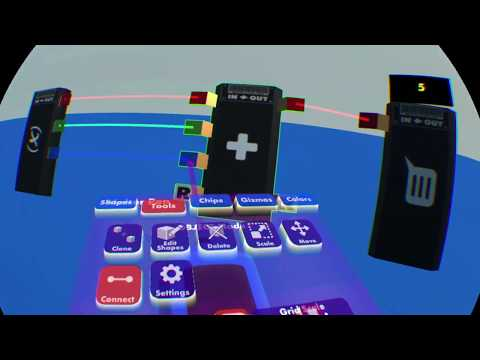 Rec Room Tutorial Chips: Variable, Combinator, Comparer