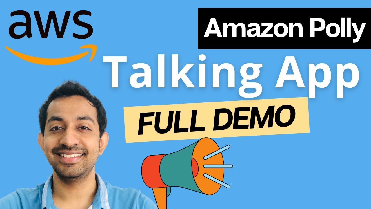 Building a Talking App | Amazon Polly | Manoj Fernando's Blog