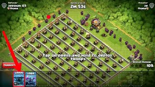 Clash of clans coming up update 1000 super pekkas V/S 73 Giant canons who will win 2017