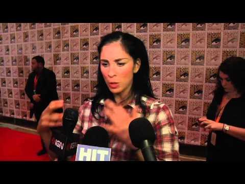 Comic Con 2012 - Sarah Silverman talks 'Wreck It Ralph'