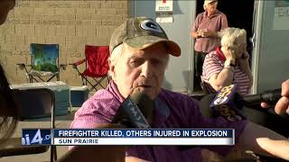 Citizens of Sun Prairie evacuated following deadly explosion