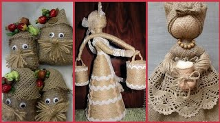 Most beautiful rope art with jute craft ideas