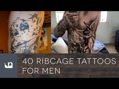 40 Ribcage Tattoos For Men