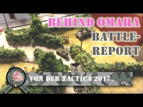 Behind Omaha Battle Report: Panzerschmied kommentiert das Spiel von Waterliner auf der Tactica 2017