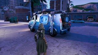 Comment trouver RESPAWN VANS en utilisant ce pépin facile à Fortnite! Respawn Vans dans les images de jeu!