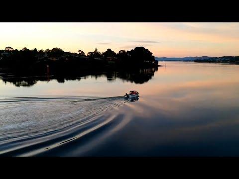 Fishing Tamar River George Town Tasmania