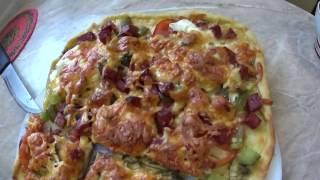 Пицца // Готовим пиццу // Простой рецепт пиццы