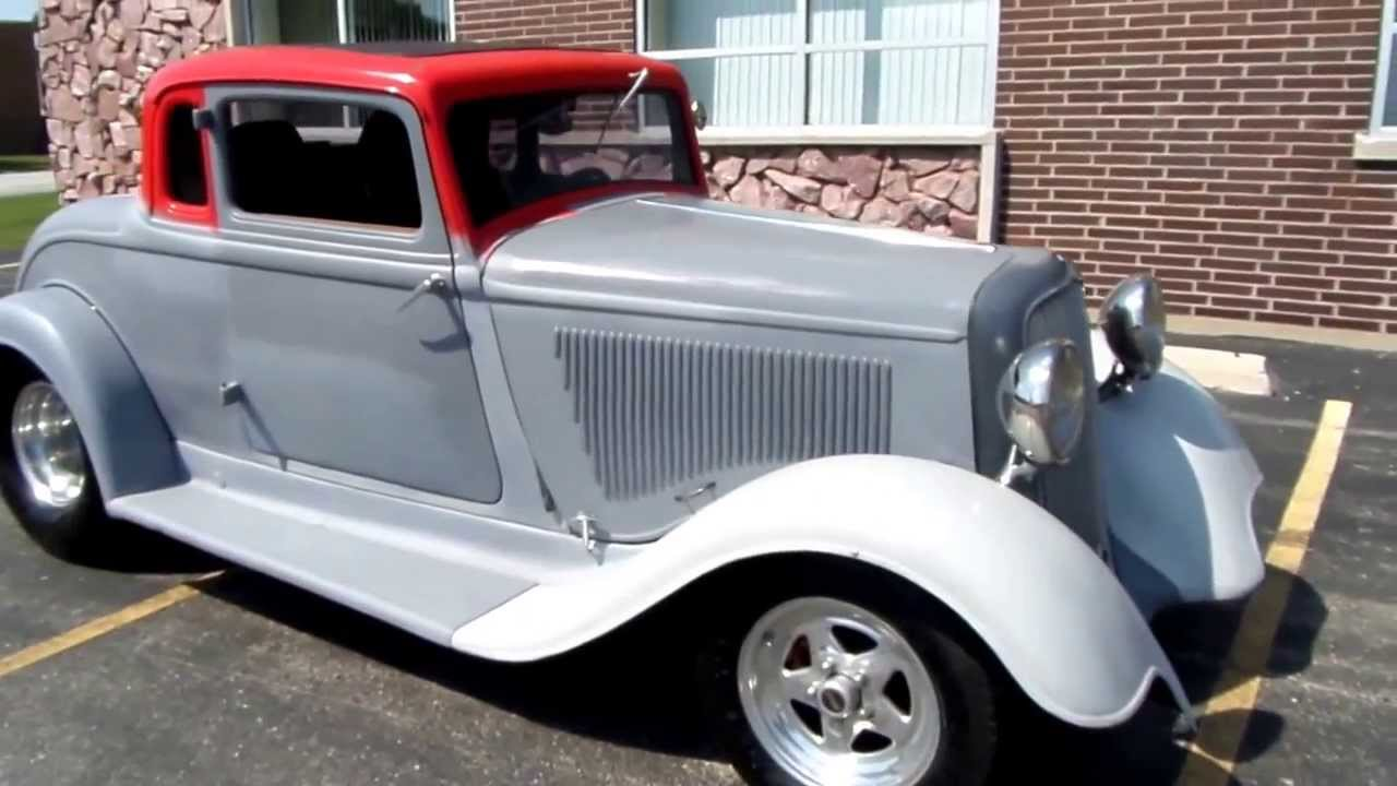 1933 Plymouth Coupe PD Street Rod- @ American Muscle Cars-