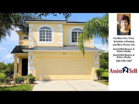 1740 Portcastle Cir, Winter Garden, FL Presented by Assist2Sell Buyers & Sellers Realty.