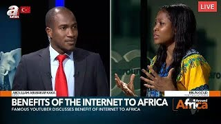 EBUN'S INTERVIEW ON ANEWS TV IN TURKEY || Life  as an African in Turkey