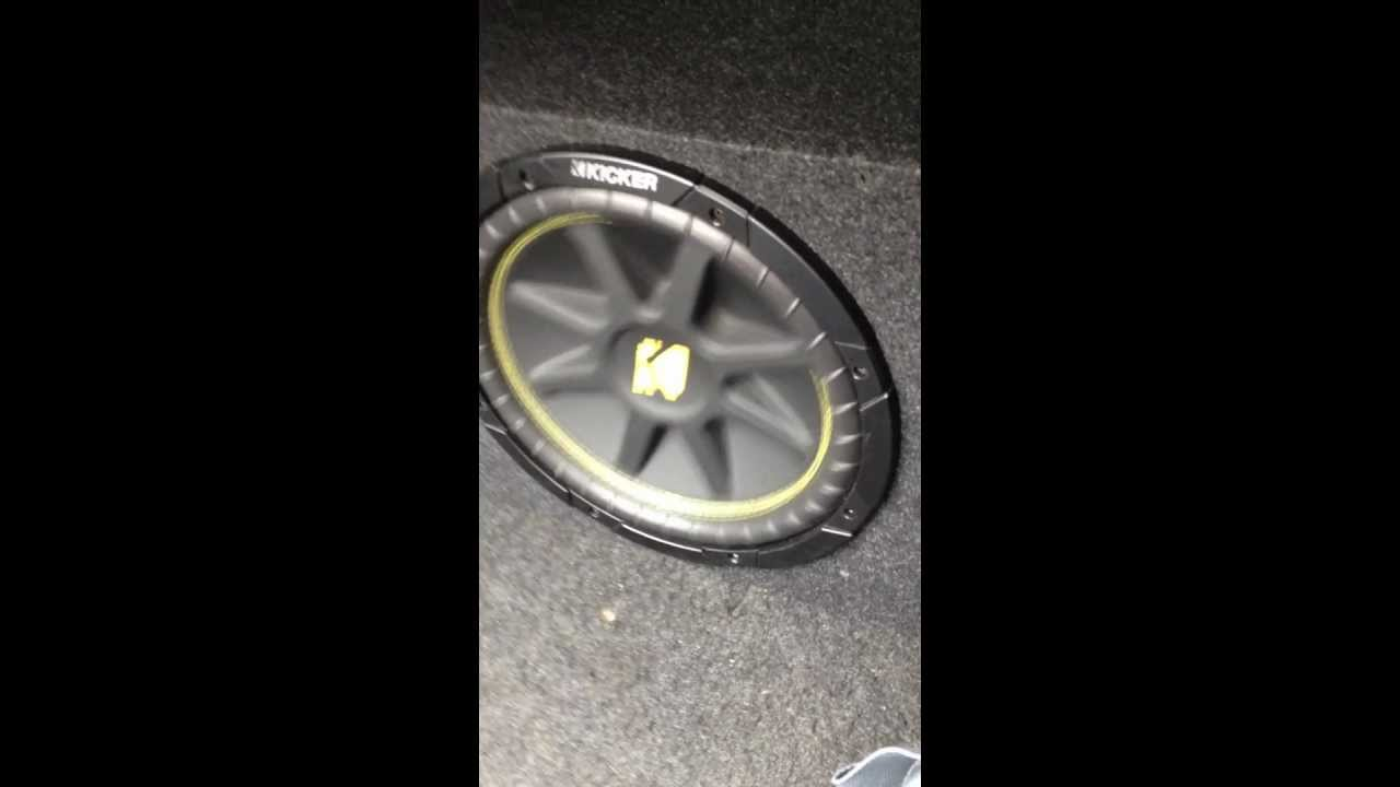 one 12in Kicker Comp and 250.1 amp - YouTube