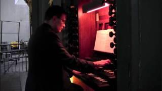 Wenn wir in hochsten Noten sein, BWV 641 by Bach for organ (Vidas Pinkevicius)