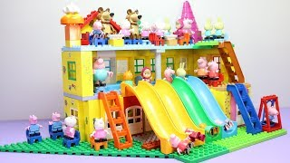 Lego House With Water Slide Building Toys For Kids #4