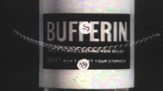 Bufferin Commercial (1963)
